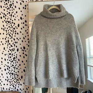 Chunky Grey Vici Sweater Small